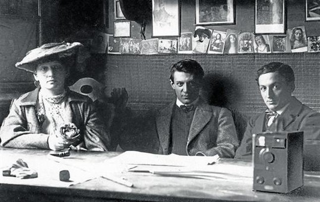 Picasso y Fernande Olivier