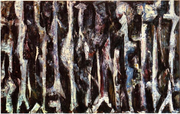 "Lee Krasner: ""Promenade"", 1947."