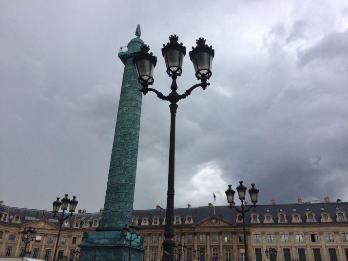 La place Vandôme, París
