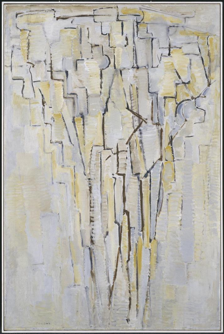 The Tree A c.1913 by Piet Mondrian 1872-1944